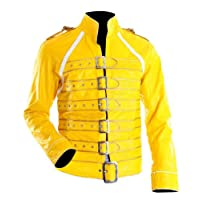 The Sparks Up Inc. Legend Freddie Mercury Rock Concert Costume Faux Leather Jacket