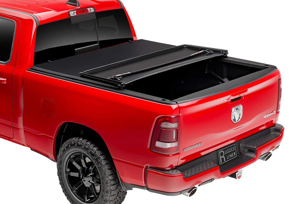 5.5 Foot Bed with or Without Utility Track Rugged Liner E3-TUN5507 Tonneau Cover for Toyota Tundra Pickup