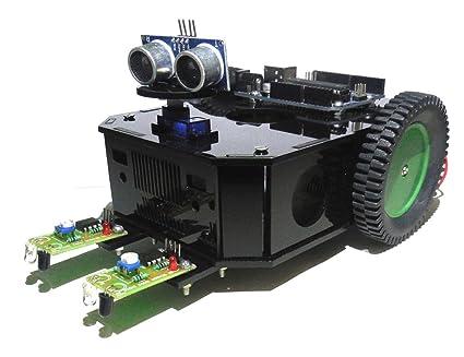 Robo India Arduino Based Obstacle Avoiding Robot Kit: Amazon