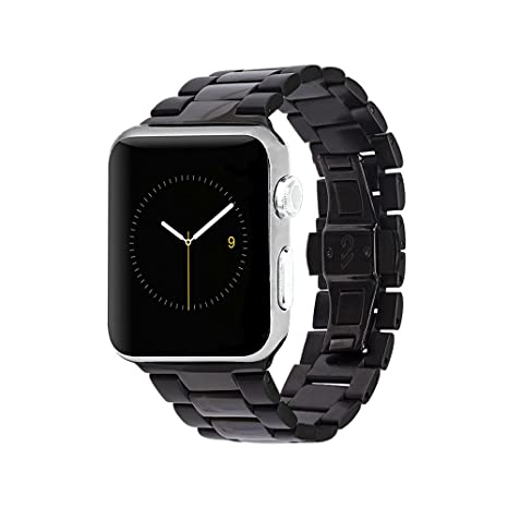 692c0148841f Amazon.com: Case-Mate - Metal Linked Band - 42mm 44mm Stainless Steel Apple  Watch Band - Series 4, Series 3, Series 2, Series 1 - Black: Cell Phones &  ...