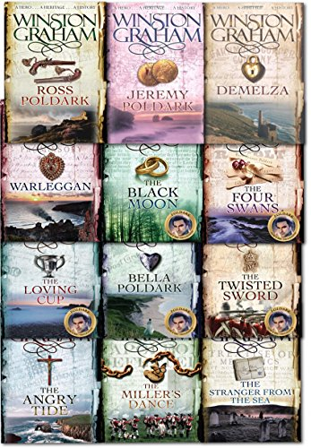 Winston Graham Poldark Series 12 Books Collection Set cover