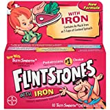 Flintstones Children's Multivitamin plus Iron Chewable Tablets, 60-Count