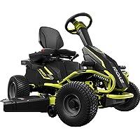 Ryobi 38 inches 100 Ah Battery Electric Rear Engine Riding Lawn Mower RY48111