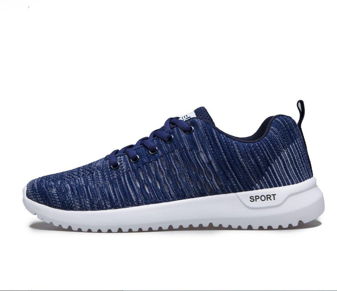 NANXIE Zapatos Casuales Ligeros para Hombres De Usos Múltiples Zapatos Deportivos De Gran Tamaño Amantes Zapatos Zapatos De Estudiante Zapatos Transpirables Zapatos De Damas para Damas 40 Azul
