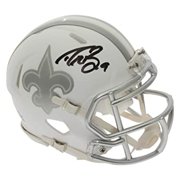 26aee1f15 Amazon.com  Drew Brees Autographed Signed New Orleans Saints Alternate ICE  Speed Mini Helmet - PSA DNA Certified Authentic  Sports Collectibles