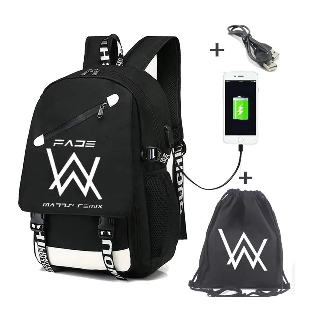 Amazon.com: Deumy Marshmello Backpack School Bags,DJ Marshmello School Rucksack Unisex Laptop Backpack Casual Daypack Travel Bag Music Backpack for ...