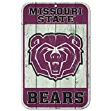 WinCraft Missouri State Bears Official NCAA 11'' x 17'' Fence Plastic Wall Sign 11x17 by 808974