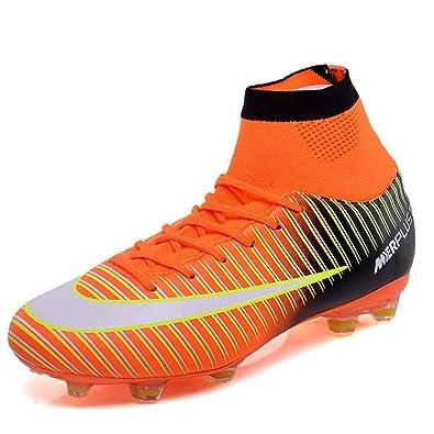 Amazon.com: HeLenRed Zapatillas de fútbol para hombre ...