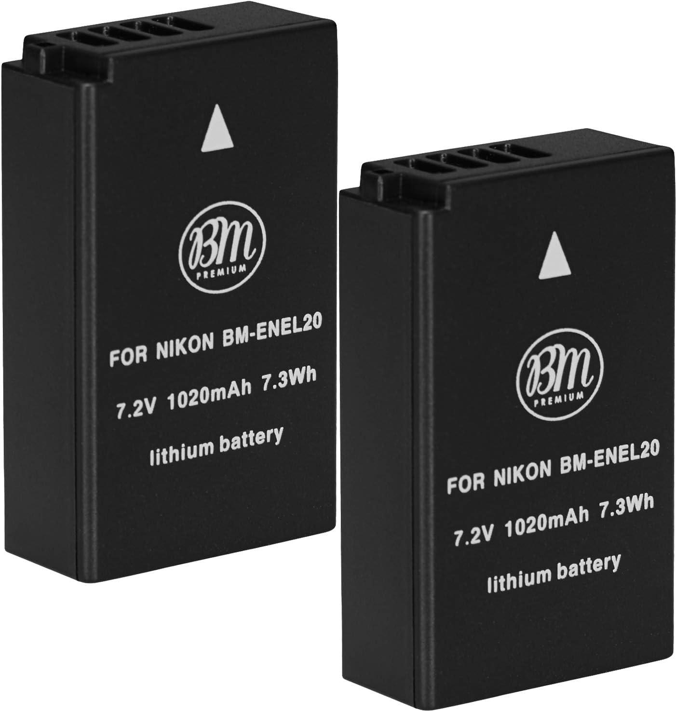 NIKON EN-EL20a Batteria ORIGINALE per nikon 1 V3 P1000