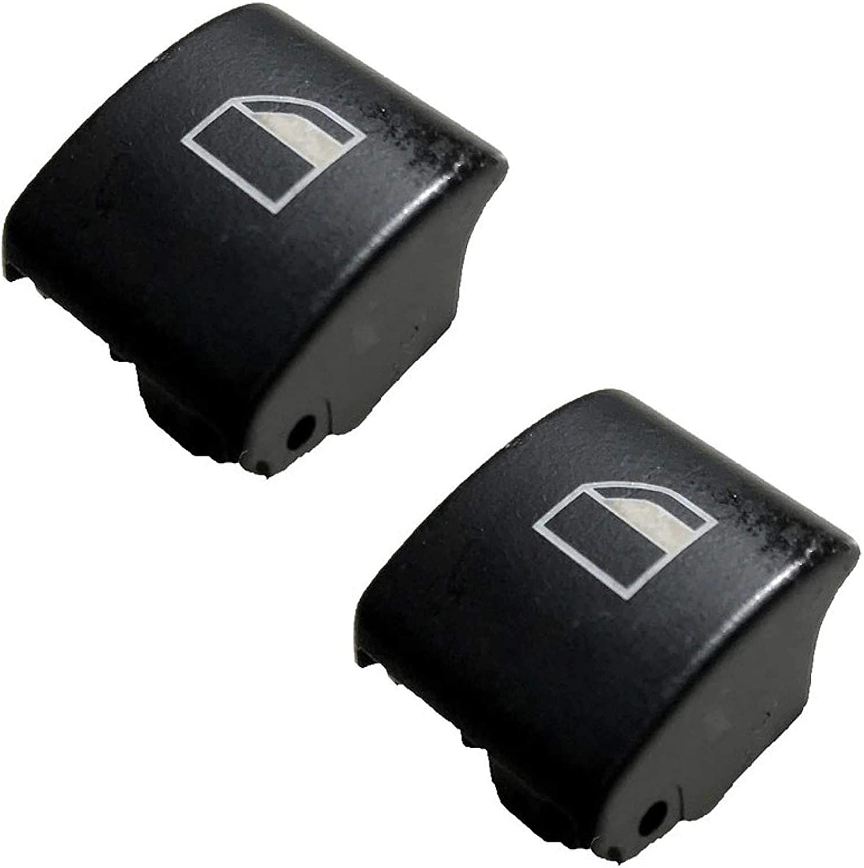 Twowinds - Reemplazo Botónes elevalunas ventanilla Derecha e Izquierda (Dos Piezas) Serie 3 E46 X3 X7