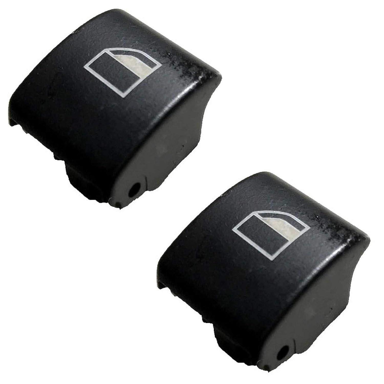 Twowinds Serie 3 E46 X3 X7 Dos Piezas Reemplazo Botones elevalunas ventanilla Derecha e Izquierda