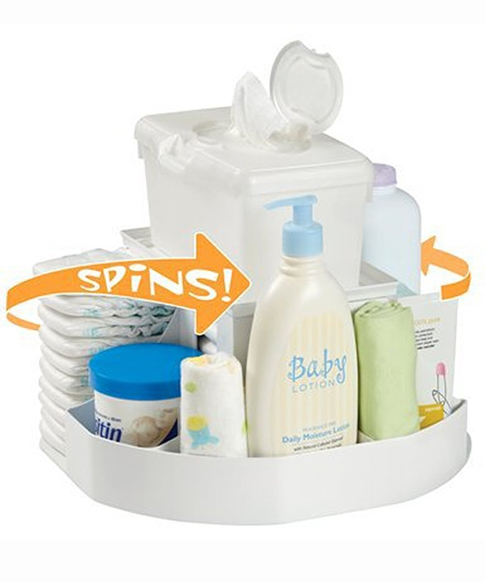 Dexbaby 'The Spin' Diaper Changing Station/Baby Nappy Stacker/Organiser Dex Baby