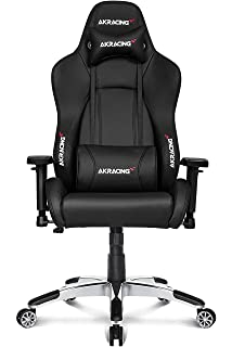 AK Racing 7002 Premium Black V2 - Silla para gaming, negro