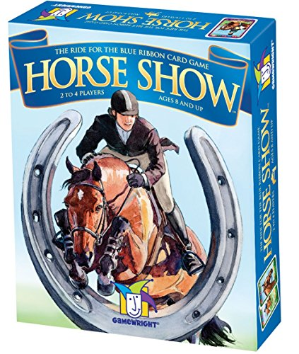 Ceaco Gamewright Horse Show Ride for the Blue Ribbon Card...