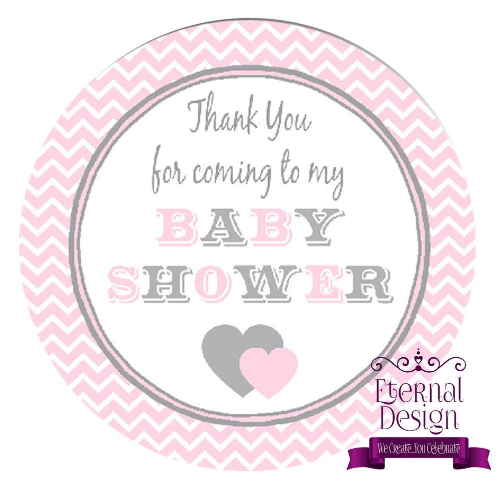 Eternal Design 35 x 37mm Baby Shower White Stickers BSCS 5