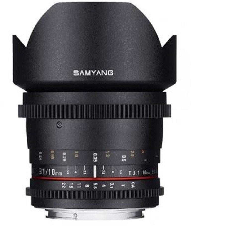 Samyang Cine sycv10 m-s 10 mm t3.1 Cine Wide Angle Lens for Sony Alpha Cameras   B00KT0UWLI