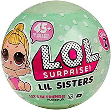 LOL Surprise Lil Outrageous Littles Lil Sisters Series 2 Lets Be ...