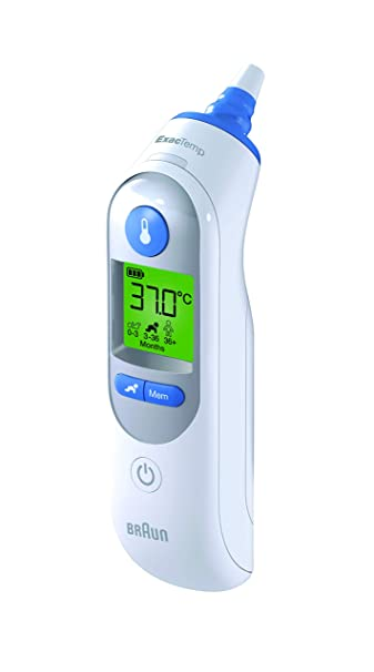 Braun Thermoscan Ear Thermometer #Irt6510ca