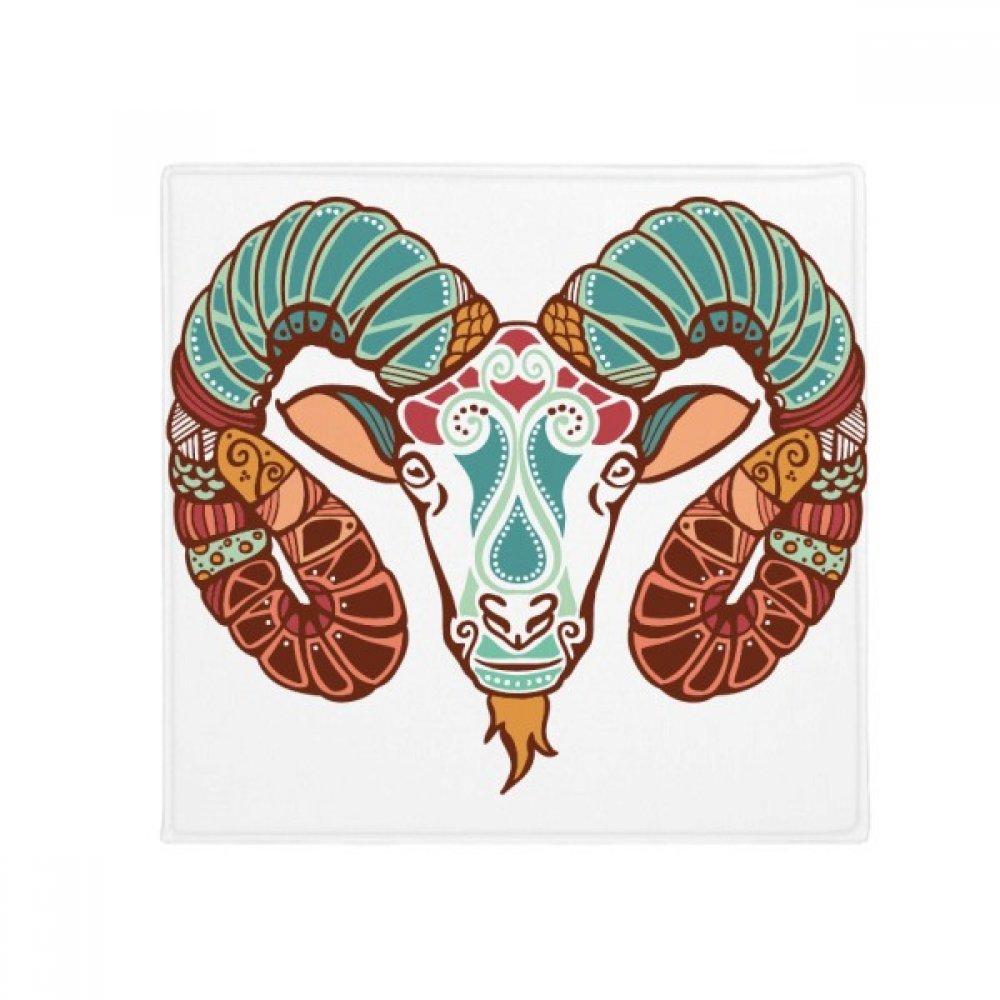 DIYthinker Aries Constellation Zodiac Symbol Anti-Slip Floor Pet Mat Square Home Kitchen Door 80Cm Gift