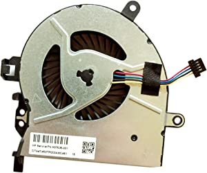 Replacement Compatible Laptop CPU Cooling Fan Cooler for HP ProBook 450 G3 450G3 455 G3 455G3 470 G3 470G3 NS65B00-14M13 OFGJ5OOOOH Service PN 837535-001 837493-001 NS65BOO-14MI3 0fgj50000h