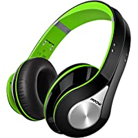 Mpow Bluetooth Headphones, Bluetooth Wireless Over-ear Stereo Headset, Foldable Bluetooth Headphone with Soft Earmuffs for Cellphones/ PC/ Tablets (Delicate Carrying Case Included) - Green