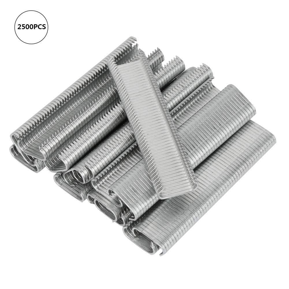 2500 st/ücke DIY C-typ 8mm Tierzaun Hog Cage Ring Sofakissen Cage M Nagel Set Installationsausr/üstung Werkzeuge
