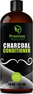 Charcoal Conditioner Sulfate Free Clarifying - Natural Volumizing & Moisturizing Anti Dandruff Activated Charcoal Hair Deep Conditioner for Oily or Dry Scalp Damaged & Color Treated Hair Mens & Women