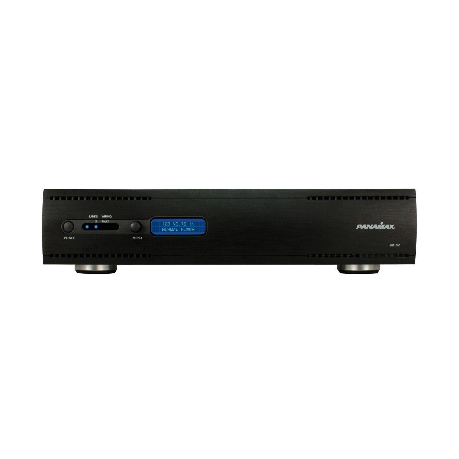 Panamax MB1000   1000VA UPS Battery Backup Surge Protector RS 232 Port