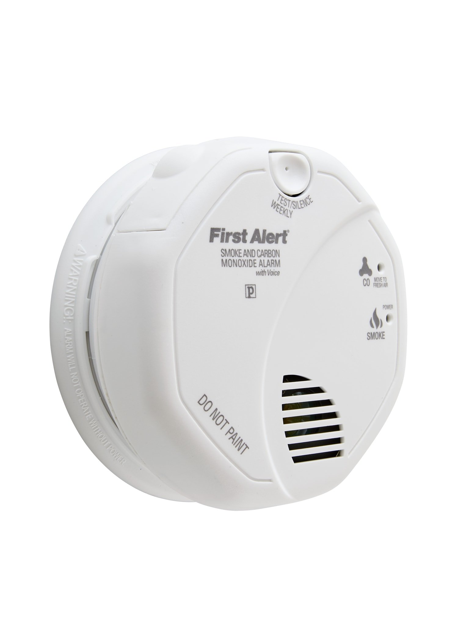 First Alert SCO7CN-C Battery-Operated Child-Awakening Combination Photoelectric Smoke and Carbon Monoxide Alarm with Voice and Location