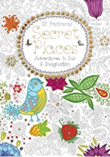Secret Places Postcard Book Adventures In Ink And Imagination Hobbies Craft
