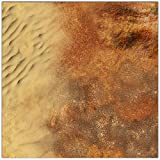 Dune Wargaming Play Mat – 36x36 Inch Table Top Roleplaying and Miniature Battle Game Mat Great for Warhammer 40k Star Wars Minis Warmachine Plus Other Games Polyester with Anti-Slip Rubber Backing
