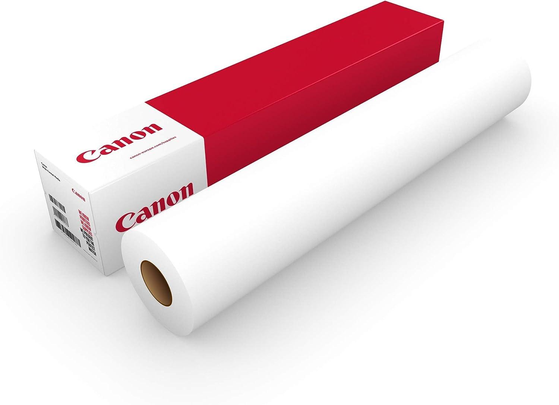 Canon Premium 130g/m 594mm - Papel para plotter (130 g/m², 2 año(s), 30 m, 30-75%, 10-35 °C, 10-35 °C): Amazon.es: Oficina y papelería