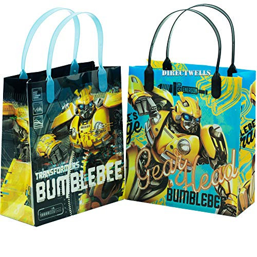 Transformers Bumblebee 12 Party Favor Reusable Medium Goodie Gift Bags 8