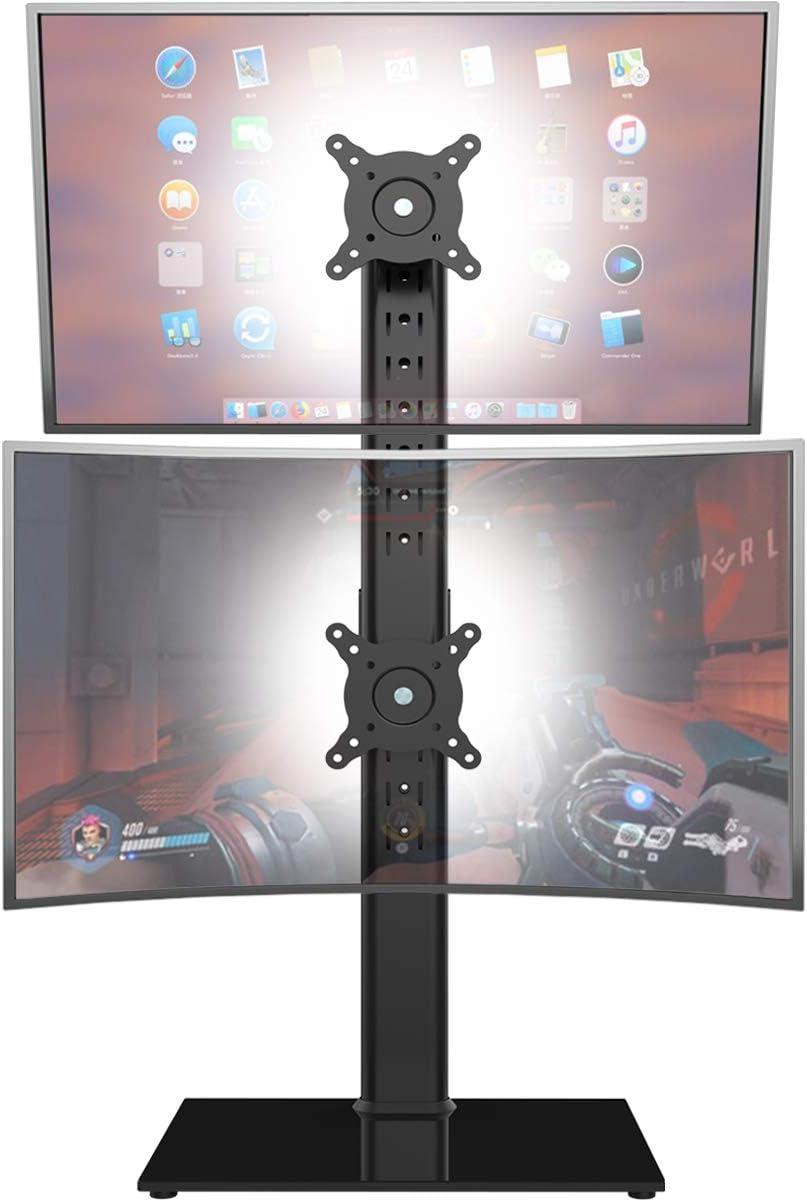 Dual Monitor Ständer Vertikaler Stapelbildschirm Elektronik