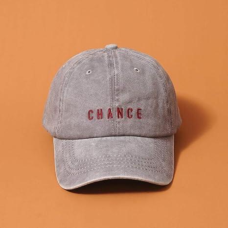 Sombrero bordado paraadultos , gorra de béisbol lavada con ...