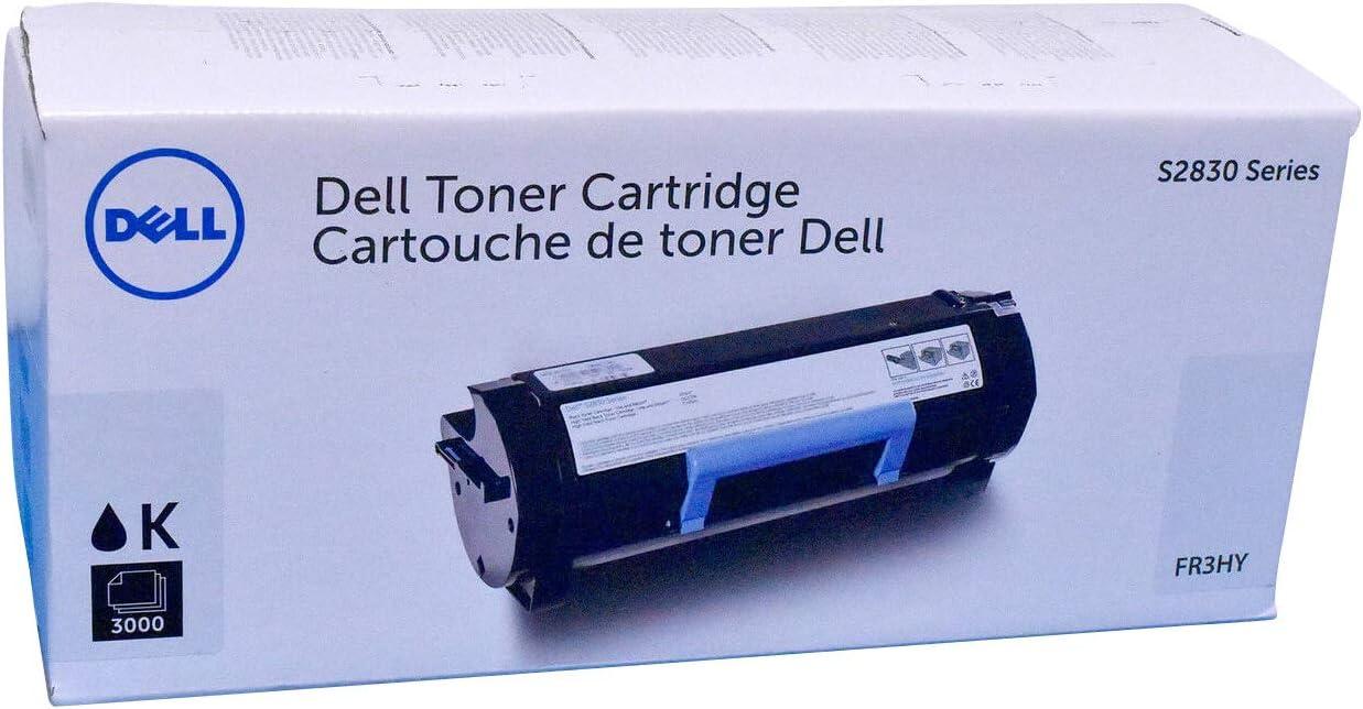 Dell FR3HY Toner Cartridge for S2830 Series, Black