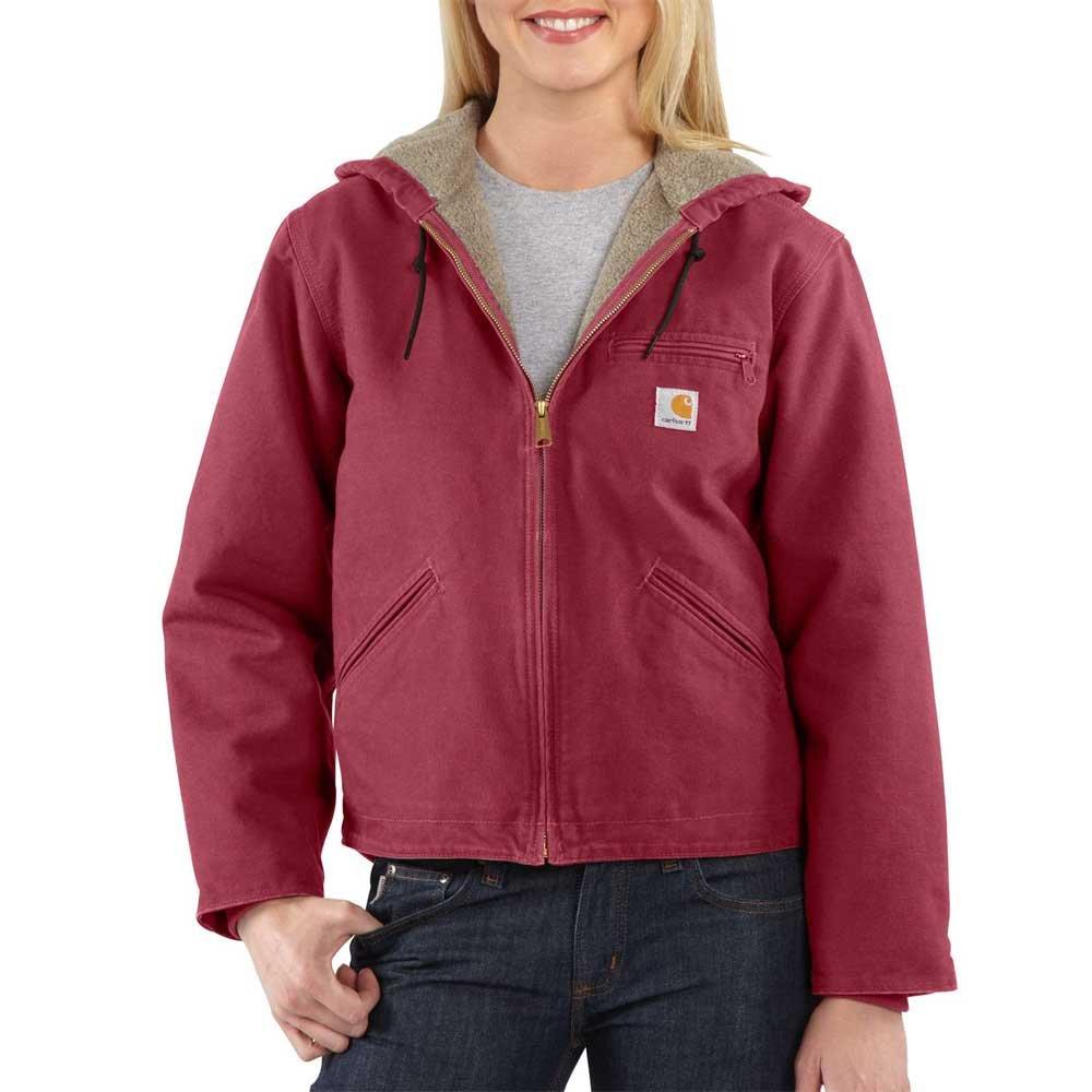 Carhartt Women's Sandstone Sierra Jacket, Raspberry, XL