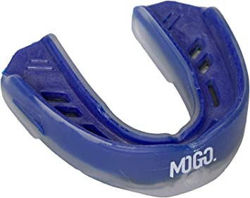 NEW MoGo Sport Youth Blue Raspberry Flavored Mouthguard Clear FREE SHIPPING