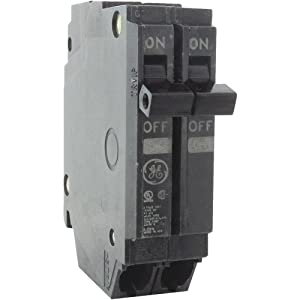 General Electric THQP215 Circuit Breaker, 2-Pole 15-Amp Thin Series