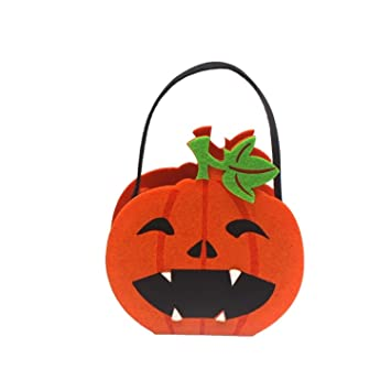 Amazon.com: BATOP Halloween Candy Bag Gift Holder Kids Trick ...