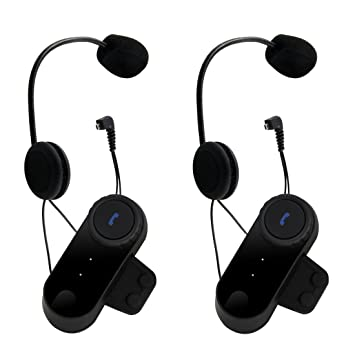 pathson 800 M BT moto casco Bluetooth Intercom Interphone auriculares inalámbricos auricular de cascos: Amazon.es: Electrónica