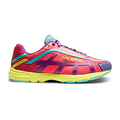 promo code 2a29c 35f9c Amazon.com | Salming Distance D5 Women's Shoes Diva Pink ...