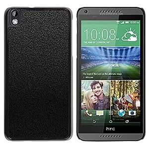 A-type Arte & diseño plástico duro Fundas Cover Cubre Hard Case Cover para HTC DESIRE 816 (Negro y Gris Azulejos)