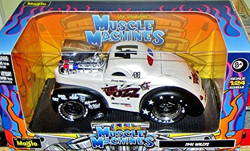 Exclusive Muscle Machine 1:24 Scale Vehicle - 1941 Willys Coupe