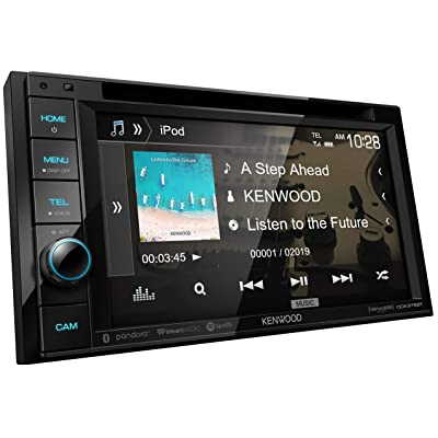 "Kenwood DDX376BT 6.2"" in-Dash Car DVD Monitor Bluetooth Receiver w/USB/AUX"