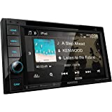 """Kenwood DDX376BT Double DIN In-Dash 6.2"""" DVD Receiver with Bluetooth   Car Stereo Receiver   Clear Resistive Touch Panel"""