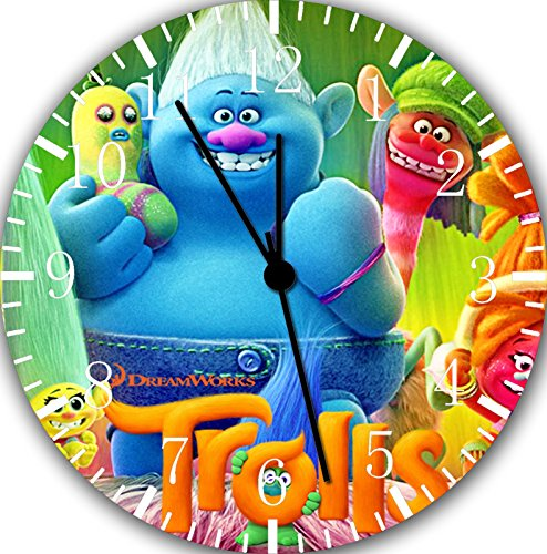 Trolls Clock For Kids