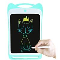 Orimi 8.5 inch Rainbow Color LCD Writing Tablet Electronic Drawing Board Doodle Pad eWriter with Stylus For School Home Office (Light Blue)