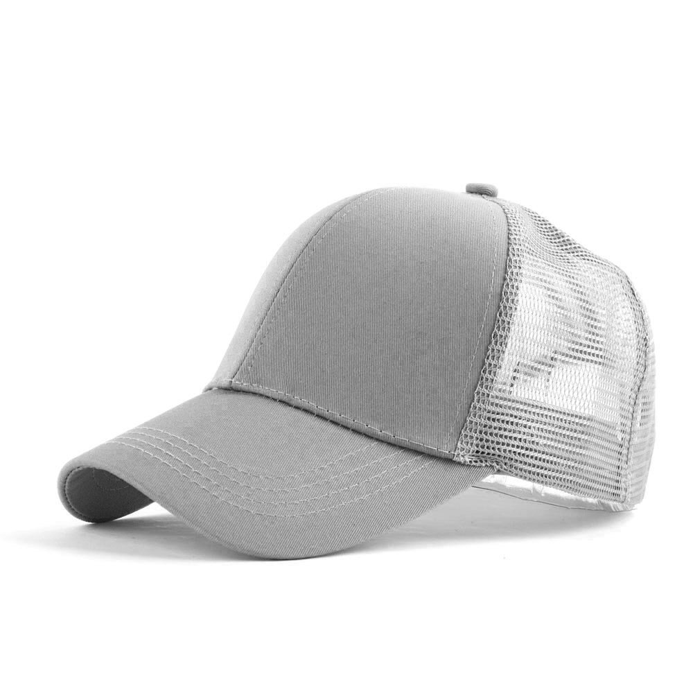 Symphony Mesh Baseball Cap, Adjustable Breathable Ponytail Baseball Hat Outdoor Sport Mesh Cap for Women Men