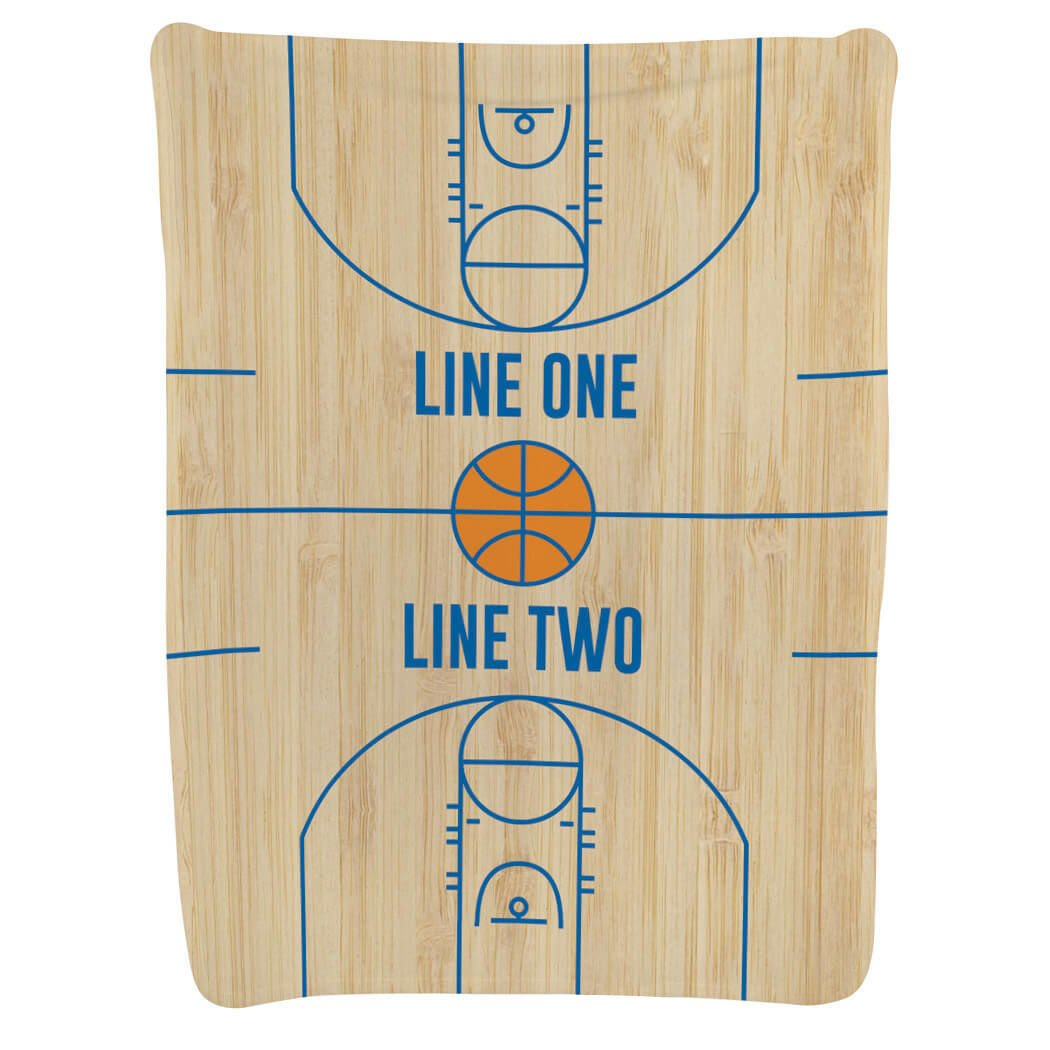 Basketball Baby & Infant Blanket   Basketball Court Wood by ChalkTalkSPORTS (Image #5)